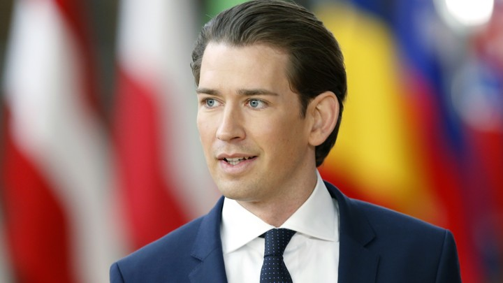 Austria's Federal Chancellor Sebastian Kurz arrives at a European Union leaders summit in Brussels, Belgium, March 22, 2018. REUTERS/Francois Lenoir - UP1EE3M13JV4O