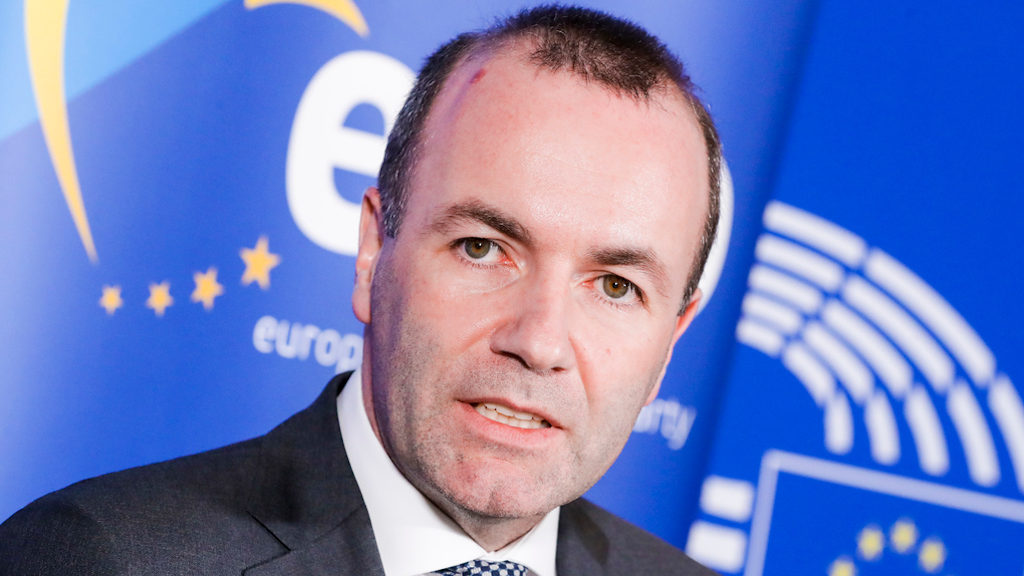 Press point by Manfred WEBER (EPP, DE), Group leader following the EPP Political Assembly meeting